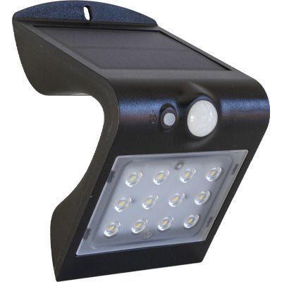Solen Lsd Swl 1 5w Black Solar Lt 4000 Lightingplus