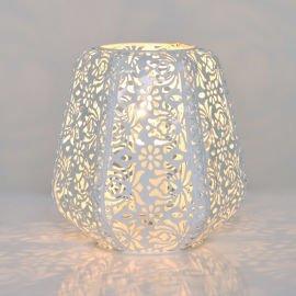 Lace White Table Lamp Lightingplus